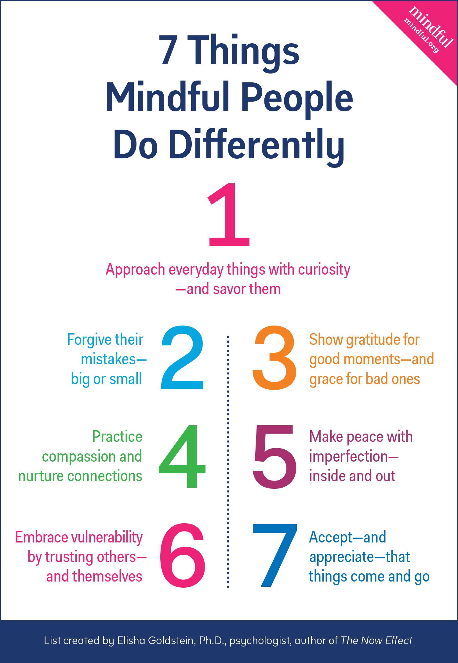 things mindful people do differently