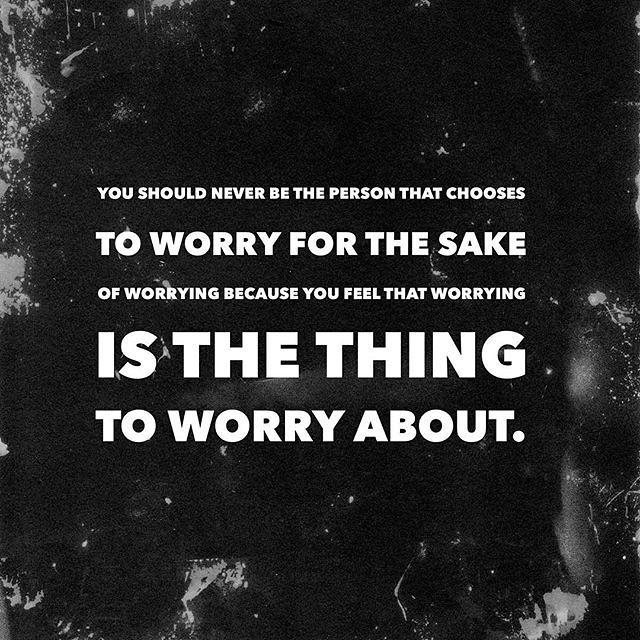 Reiki principles - don't worry