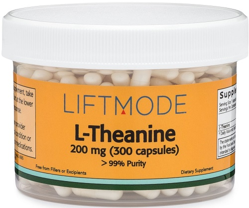 nootropics for anxiety: L-theanine
